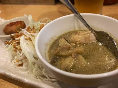 新開地 タイ料理 たむちゃん グリーンカレー
