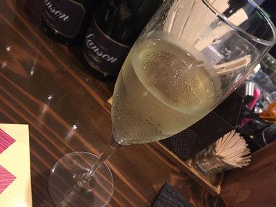 姫路 ワインバル kagen スパークリングワイン jpg