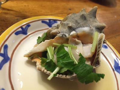 赤穂 レストラン 初音 ニシ貝