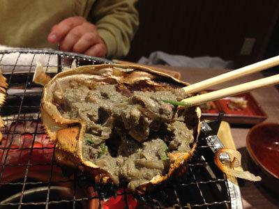赤穂 居酒屋 豊丸水産 蟹味噌