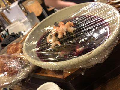 明石 魚の棚商店街 立呑み たなか酒店 おばんざい料理