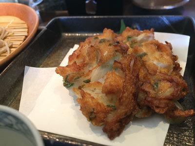 姫路 ヤマサ蒲鉾 蕎麦乃麦 かき揚げ
