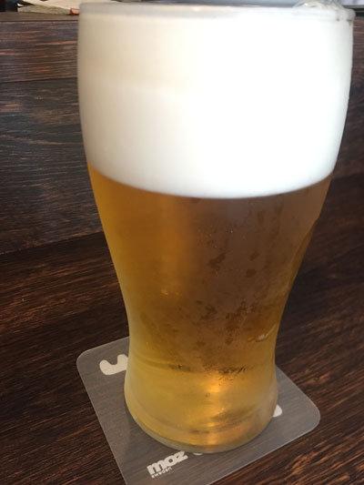 滝の茶屋 KOBE SEVENTH CAFE 生ビール