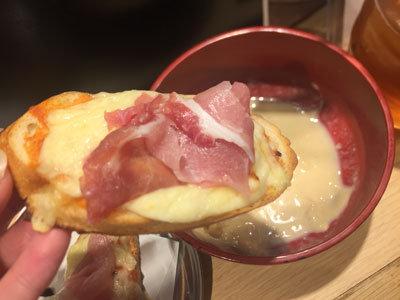 姫路 立吞み 卯の助 チーズ バケット