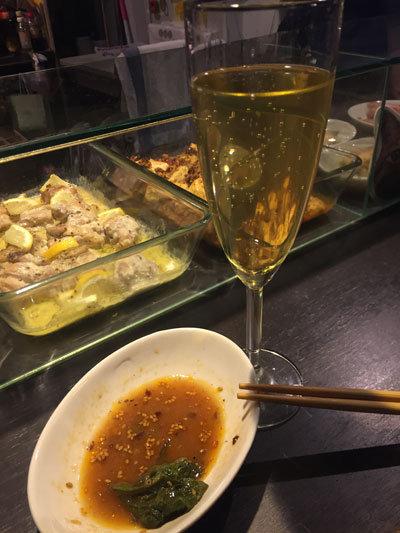 姫路 立吞み Ams room115 スパークリングワイン