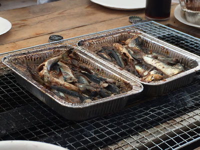 姫路 とれとれ市場 漁師料理 ヒラゴ鰯 煮