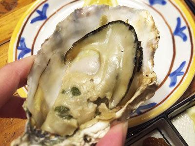 赤穂 レストラン 初音 焼き牡蠣 レモン