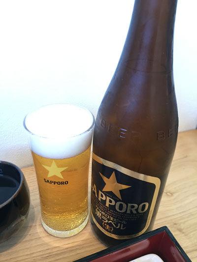姫路 駅前 お食事処 かわばた ビール