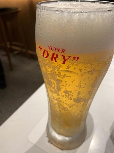 大阪 伊丹空港 丸福珈琲 生ビール