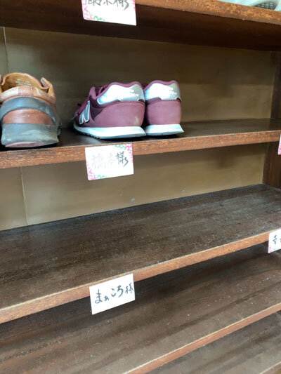 姫路 手打ち蕎麦 梅麟館 靴箱