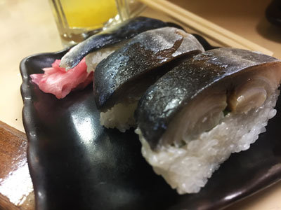 明石 立呑み 呑べえ 寿司