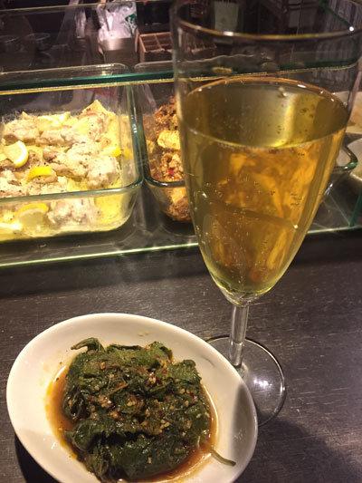 姫路 StadingBar Amsroom115 スパークリングワイン