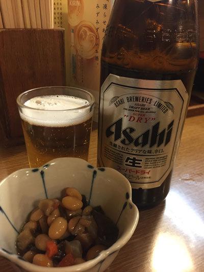 姫路 焼鳥 ふく鳥 瓶ビール