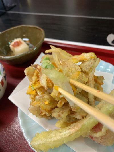 姫路 手打ち蕎麦 梅麟館 蕎麦ランチ かき揚げ