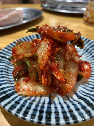 姫路 肉家 まるまさ 夜 食べ放題 キムチ