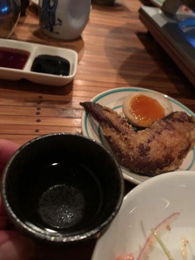 明石 麺や 一福 日本酒
