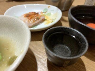 大阪 草鍋 えんや 日本酒 熱燗
