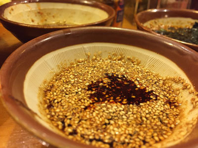 姫路 ラーメン ごますり家 広島つけ麺 100辛液