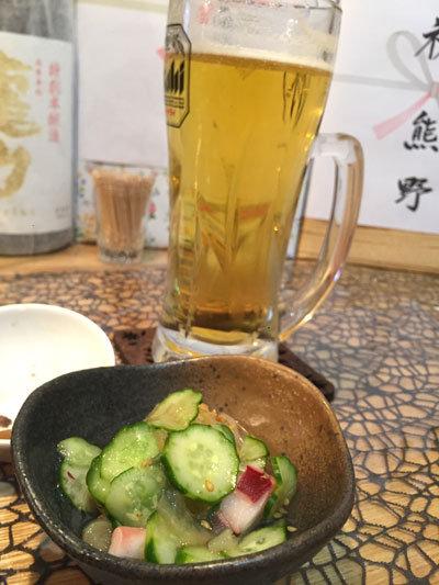 姫路 おばんざい料理 eん 生ビール「