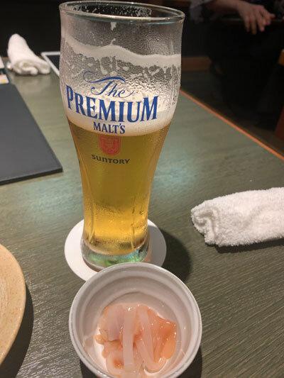 姫路 魚町 土佐料理 よさこい 生ビール