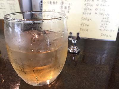 神戸 塩屋 ワンダーカレー店 自家製 ラム 梅酒