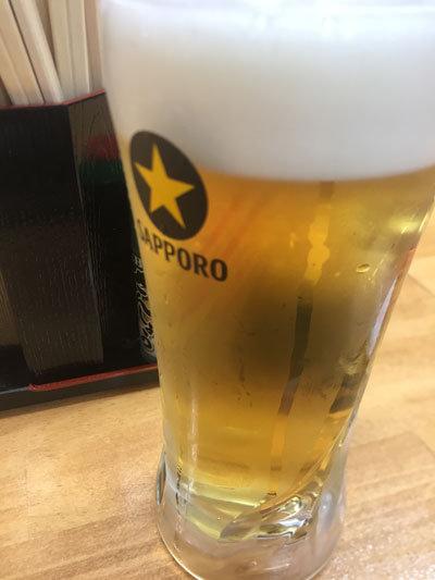 加古川 肉家 まるまさ 生ビール