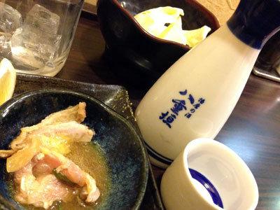 姫路 炭火焼鳥 ゆ鳥 お溝筋店 日本酒