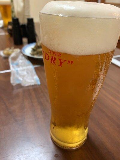 姫路 銘酒酒場 主水 生ビール