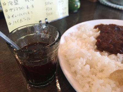 神戸 塩屋 ワンダカレー店 辛味オイル