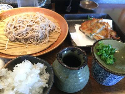 姫路 ヤマサ蒲鉾 蕎麦乃麦 ランチ