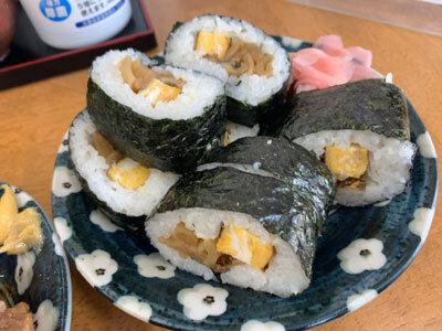 姫路 白浜の宮 関東煮 澤田屋 巻き寿司