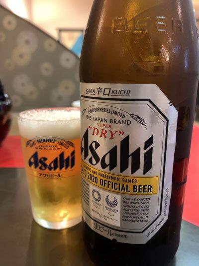 出石 皿そば 山下 瓶ビール