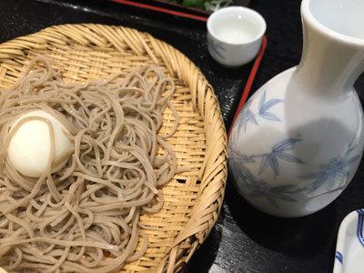 姫路 蕎麦 御座候 日本酒