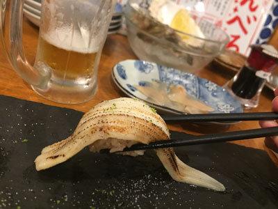 姫路 フェスタバル 2018 姫路酒肴 魚寿司 柚子塩穴子