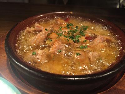 姫路 イタリアン BAR mariamaria 鶏のアヒージョ