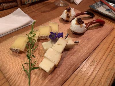 明石 ワイン酒場 Ace チーズ3種盛り