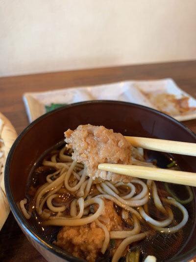 姫路 蕎麦 戀 出汁 つくね