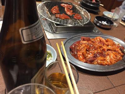 神戸 新長田 炭火焼肉 のぎく タレ焼き