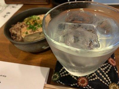 姫路 おばんざい 菜ごみ 芋焼酎ロックレモン
