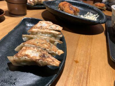 姫路 ラーメン八角 追加 餃子