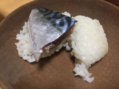 まぁころ作 鯖寿司