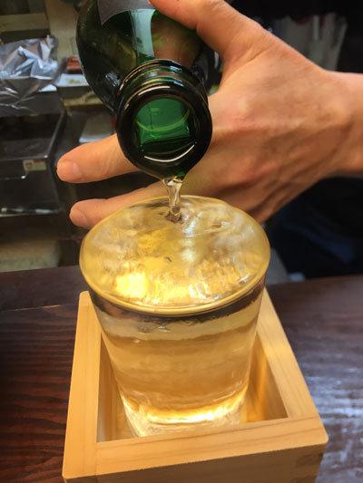 姫路 立吞み処 与太呂 日本酒 熱燗