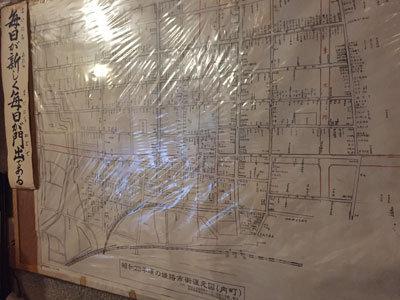 昭和23年の姫路 地図