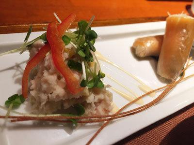 姫路 アジアンダイニング 金魚蘭 サラダ