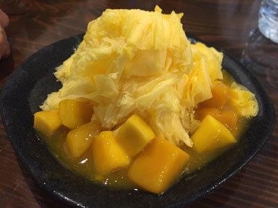 姫路 ワインバル kagen 台湾カキ氷