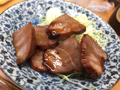 姫路 福十食堂 焼豚