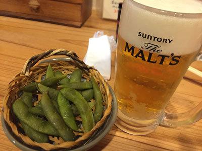 姫路 立喰い 寿司 魚路 ととろ 生ビールセット