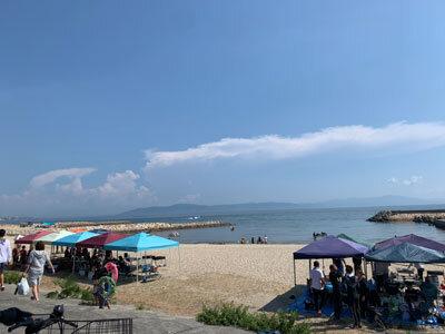 明石 江井ヶ島 海岸
