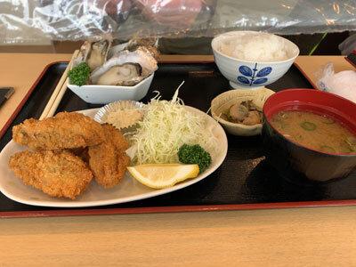 姫路 天晴水産 みのり家 牡蠣フライ定食