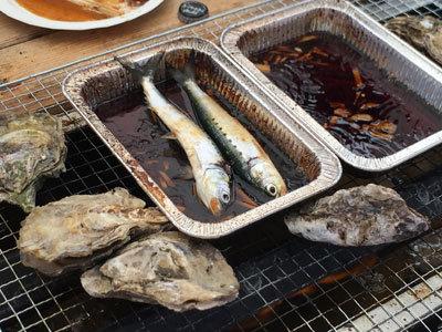 姫路 とれとれ市場 漁師料理 ヒラゴ鰯